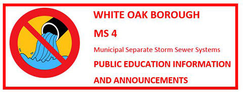 White Oak Borough MS4 Information