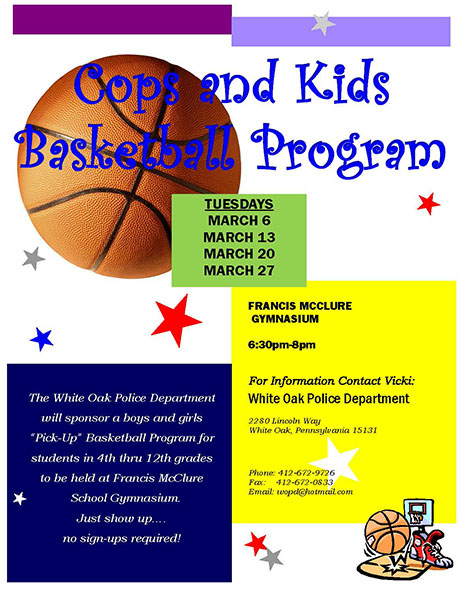 Cops and Kids Basketball Program