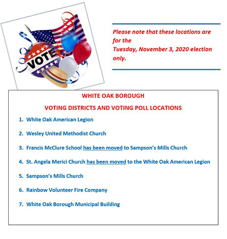 Voting Districts and Voting Poll Locations